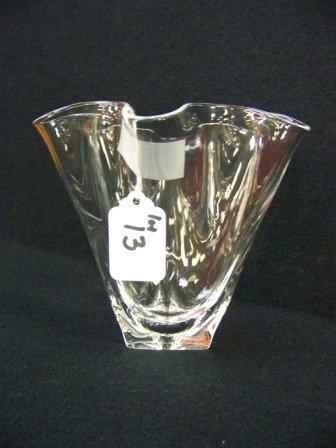 13: Vintage Stueben Signed Vase