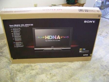 """320: Sony Bravia KDL 40W4100 40"""" LUD HDTV W Series - 2"""