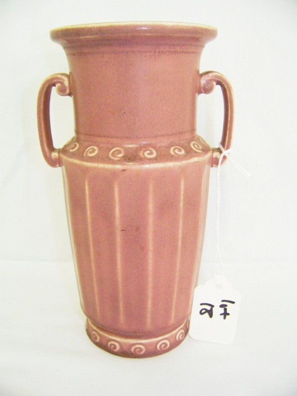18: Early Rookwood Doublehandled Vase
