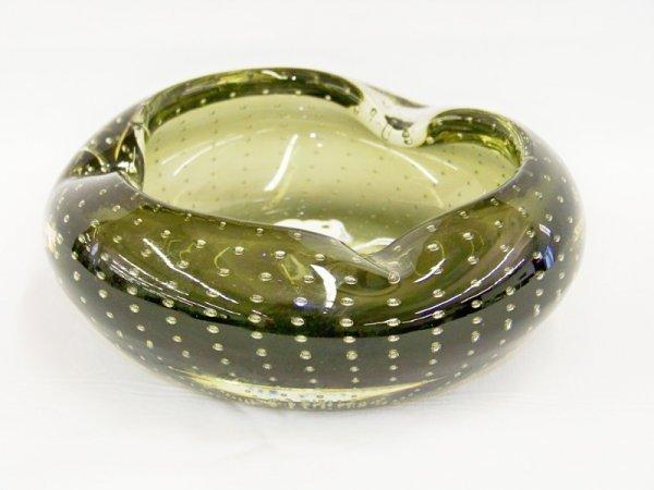1: Vintage Murano Art Glass Bowl Ashtray