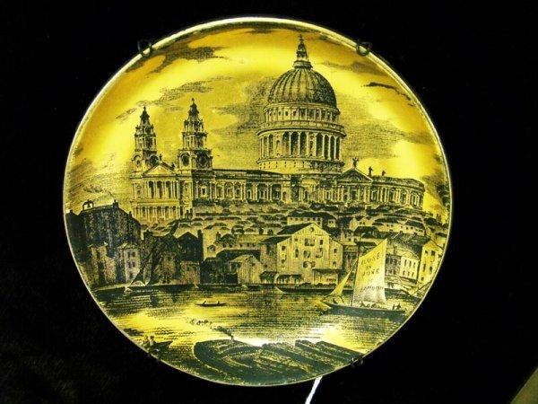 13: Early Portmeirion London Gold Gilt Plate