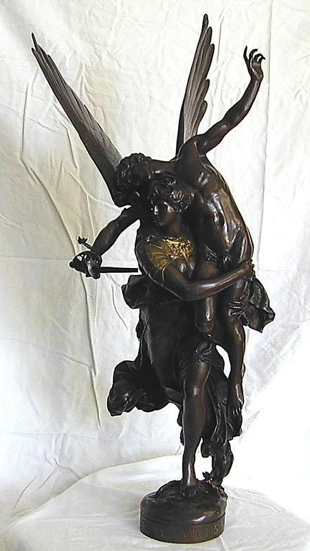 106: Antoin Mercie (French 1795-1875)Bronze Sculpture