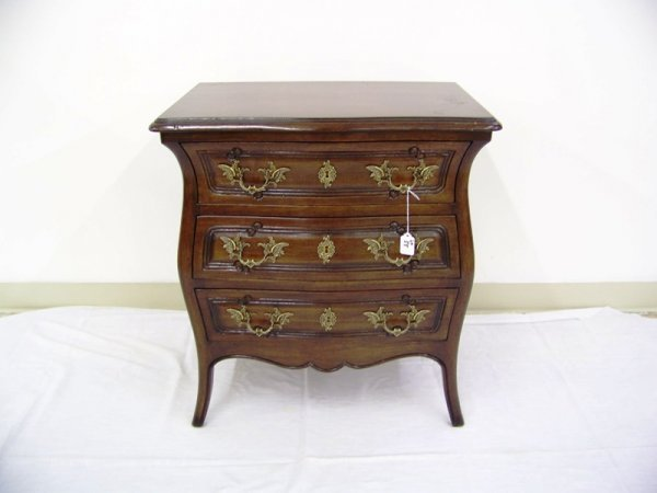 55: Meldan Furniture  Bombay French Style Side Table - 2