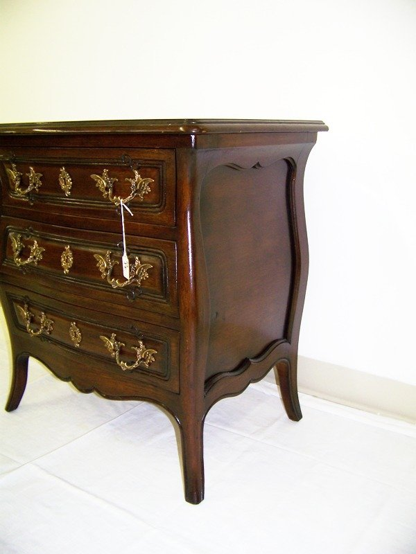55: Meldan Furniture  Bombay French Style Side Table - 4