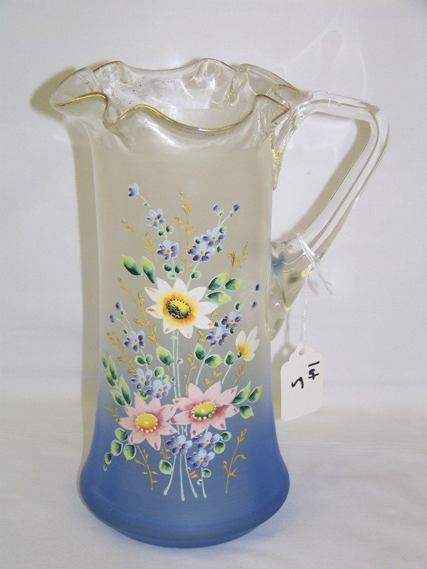 5: Mary McGregor Style Hand Painted Water Pitcher