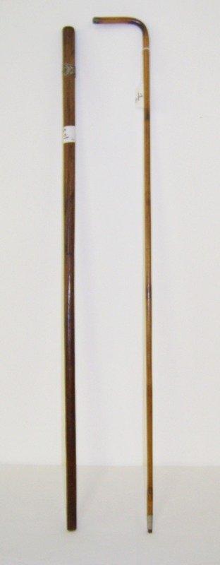 1: Pr. Early Sterling Capped Walking Sticks