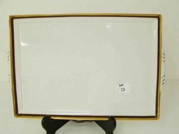 13: Large Richard Ginori Dresser Tray