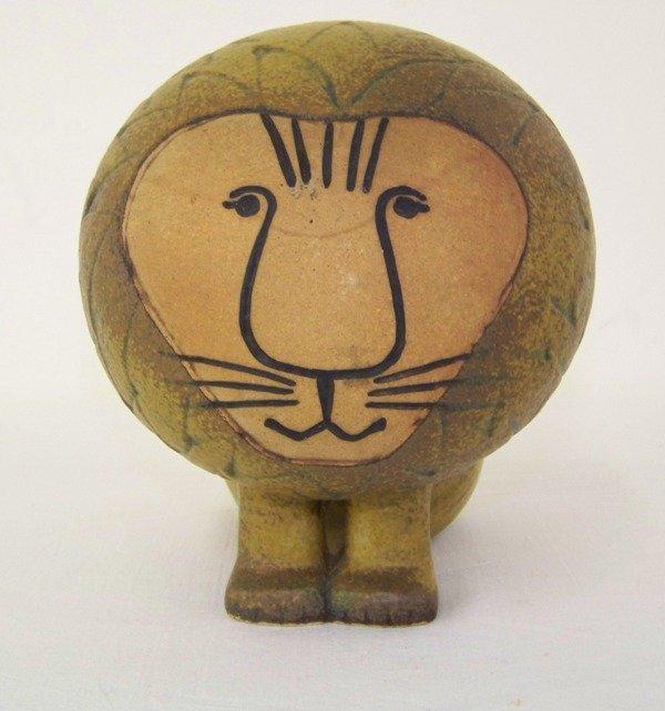 23: Lisa Larson Gustavsberg Pottery Lion