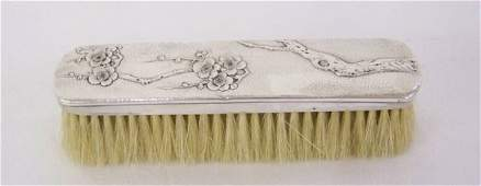 286A Early Sterling Chinese  Hair Brush