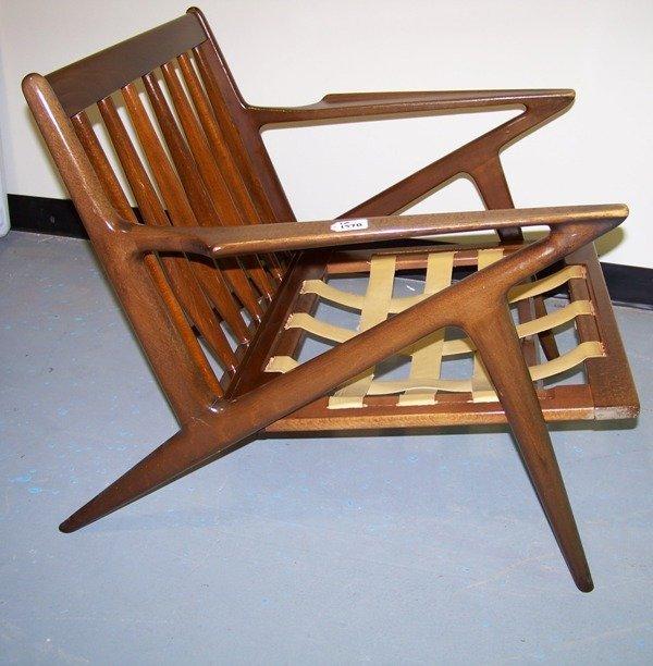 157B: Modern Selig Jensen Z Chair