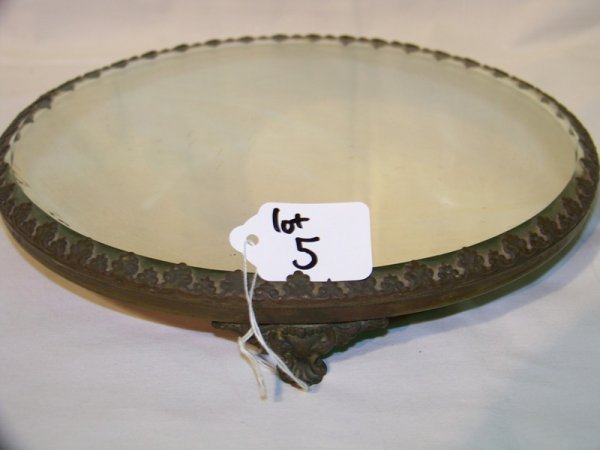 5: Antique Mirrored Plateau / Dresser Tray