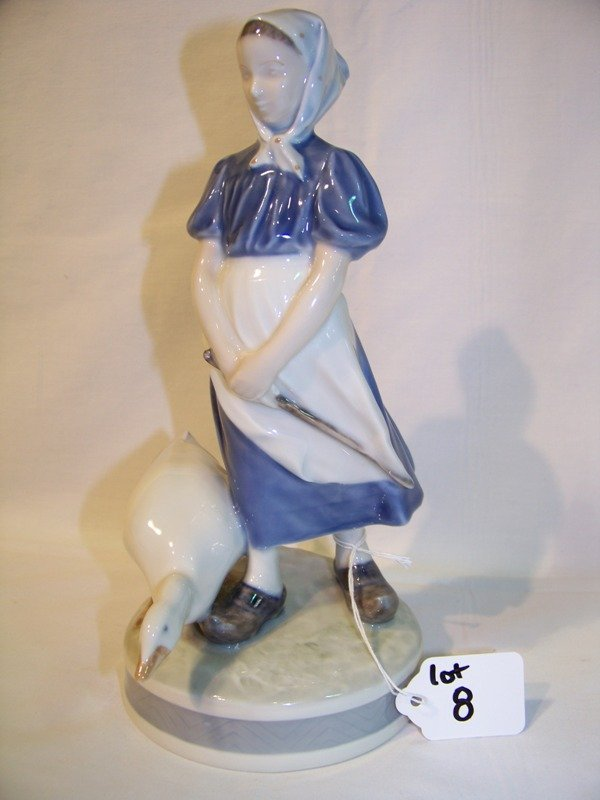 8: Royal Copenhagen Mother Goose Figure