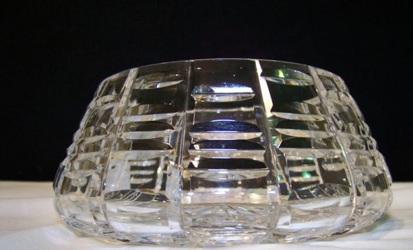 20: Waterford Signed Cut Crystal Bowl