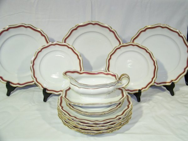 6: 14 Pc Weimar Partial China Set