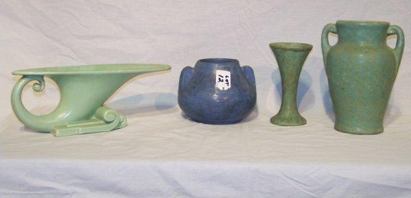 12: 4 Vintage Pottery Vessels