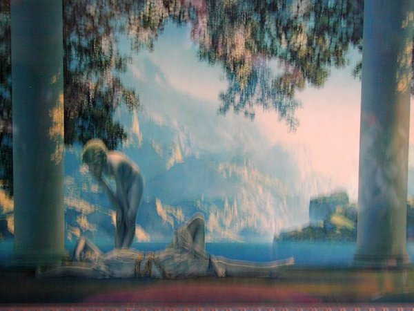"63A: Maxfield Parrish original print ""Daybreak"" - 2"