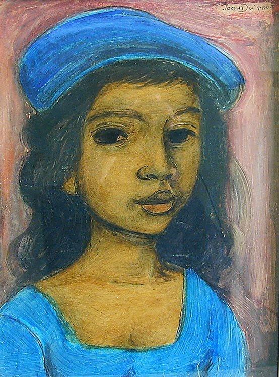 116: Juan DePrey (Amer. 1904-1962) Portrait