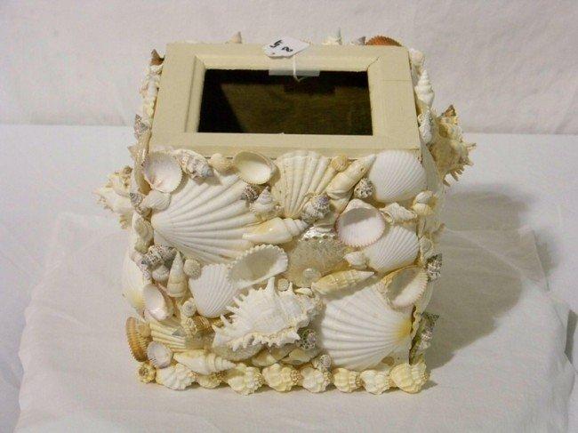 8: Large Decorative Sea Shell Planter
