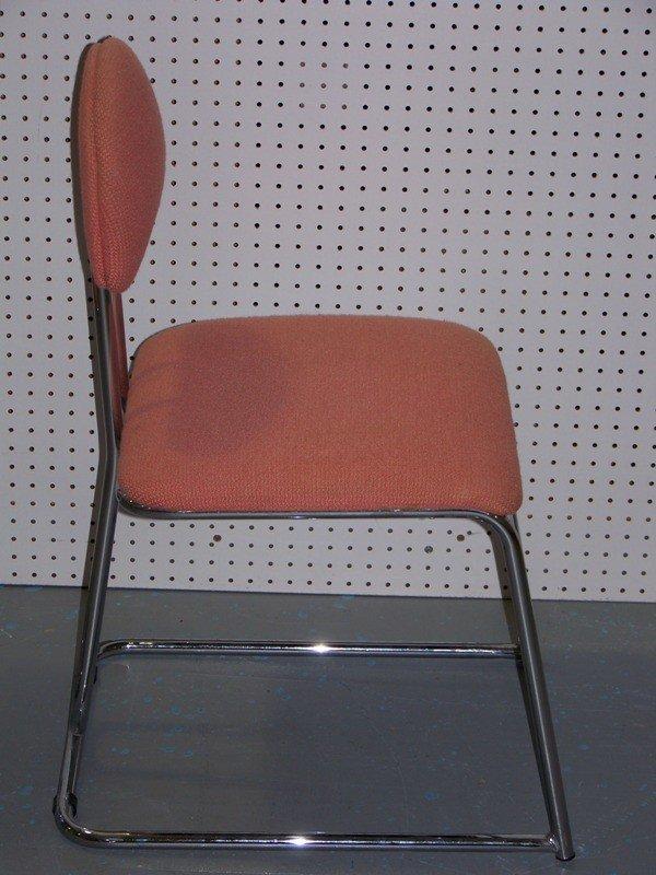 142: 4 Chrome Modern Chairs by Loewenstein / Oggo - 4