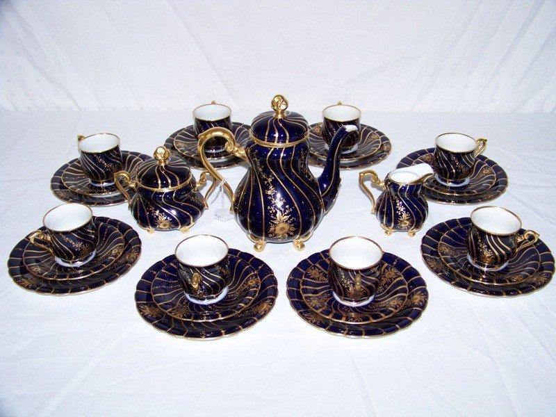 1: 27 Pcs Hutsehenreuther Homenberg Tea Set