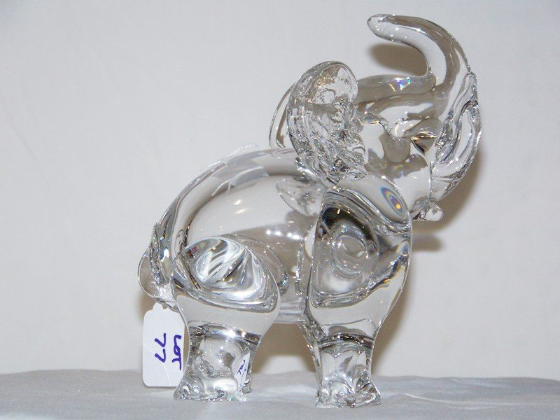4: Vintage Art Glass Elephant