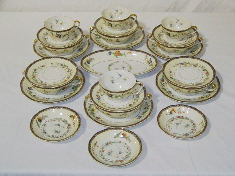 "20: 26 Pcs. Theodore Haviland Limoges "" Chinon "" China"