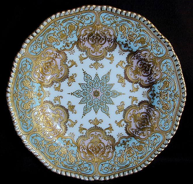 118: 12 COALPORT CHICAGO1893 Exhibition PLATES