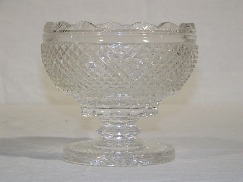 3: Great Early Sharp Cut Crystal Candy Dish