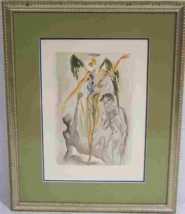 "187: Salvador Dali - Purgatory 32 ""Earthy Paradise Wood"