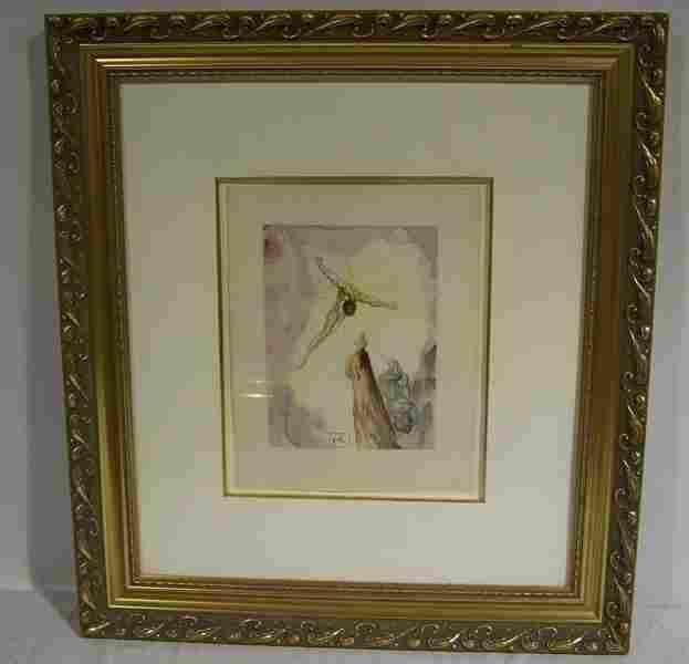 192: Salvador Dali - Paradise 14 - Ghost of Christ Engr
