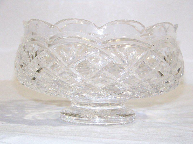 1: Waterford Signed Crystal Jim O'Leary Anniversary Bow