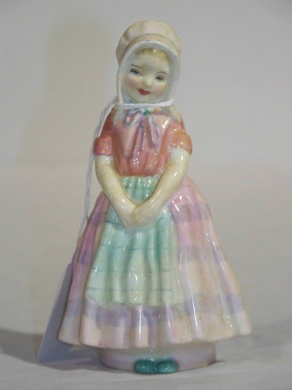 "21: Royal Doulton Porcelain Figure "" Tootles"""