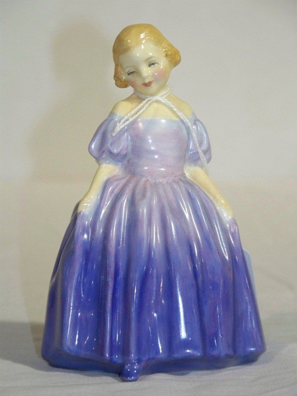 "22: Royal Doulton Porcelain Figure "" Marie """