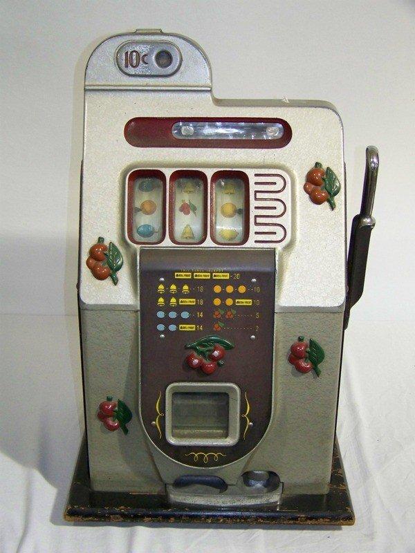 176: MILL'S Early Ten Cent Cherry Slot Machine