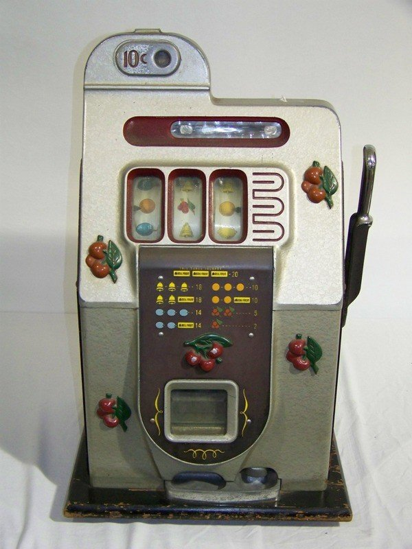 176: MILL'S Early Ten Cent Cherry Slot Machine