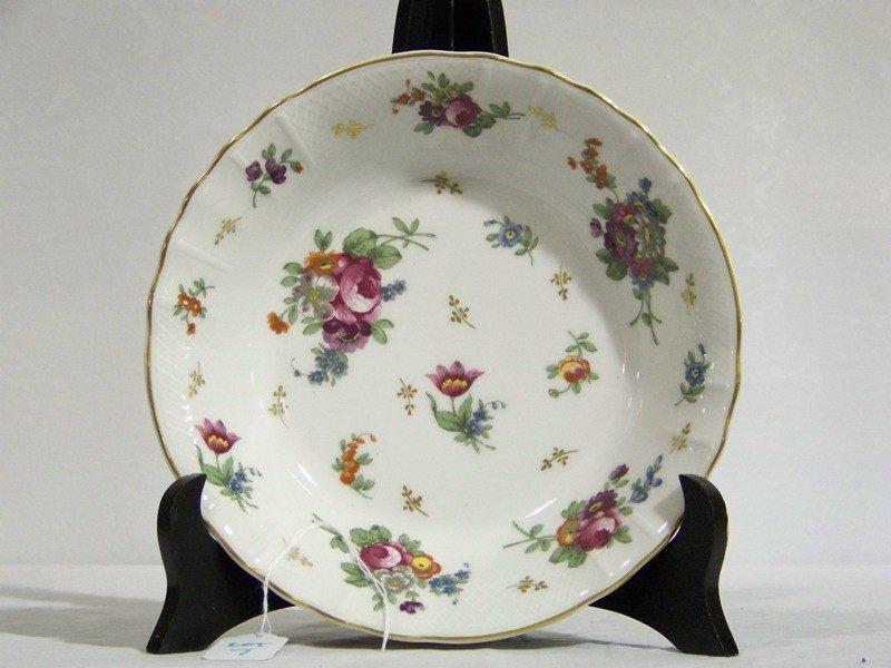 """7: L.Bernardaud & Co. Hand Painted Limoges Bowl """"Paris"""""""
