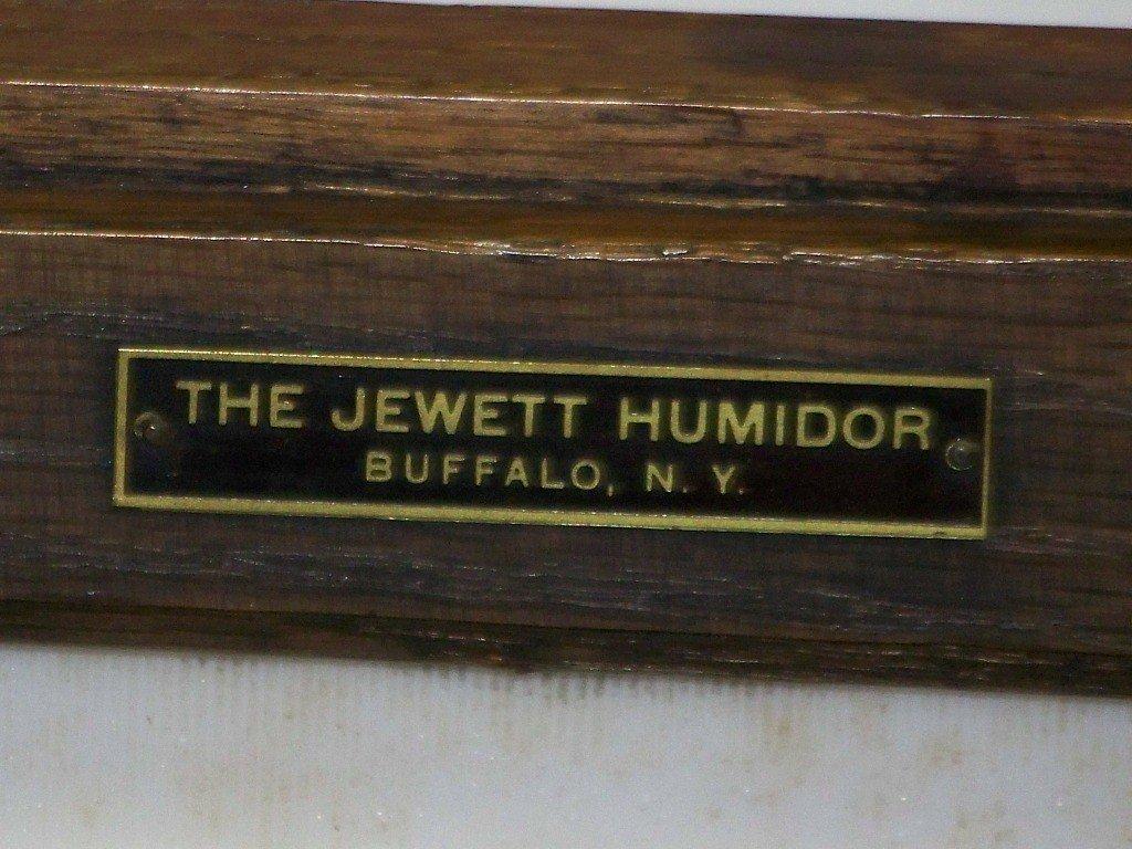 """150: 19th C. """"The Jewett"""" Humidor Buffalo, NY - 7"""