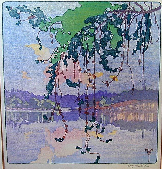 151: WALTER JOSEPH PHILLIPS (Canada 1884-1963) Woodbloc