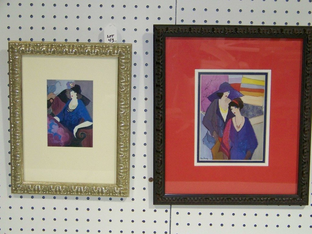 43: Pair of ITZCHAK TARKAY, Lithos/Prints
