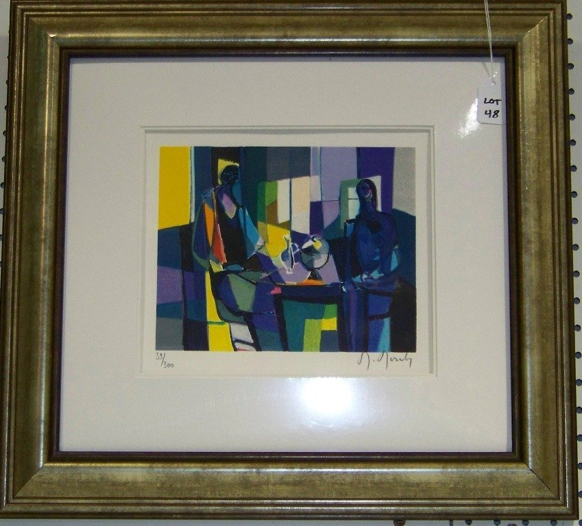 48: Marcel Mouly, Signed Lithograph in Colors #33/300