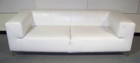 Great Italian Modern Leather Sofa