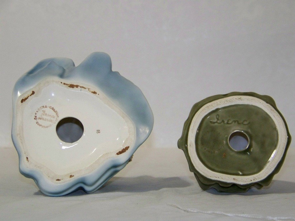 24: Pair of Florence Ceramics Pasadena California Figur - 6