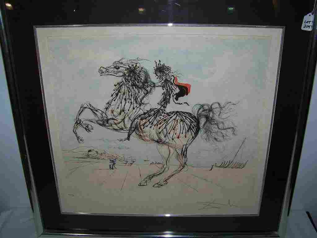204: Salvador Dalí (SPANISH, 1904-1989) Signed Etching