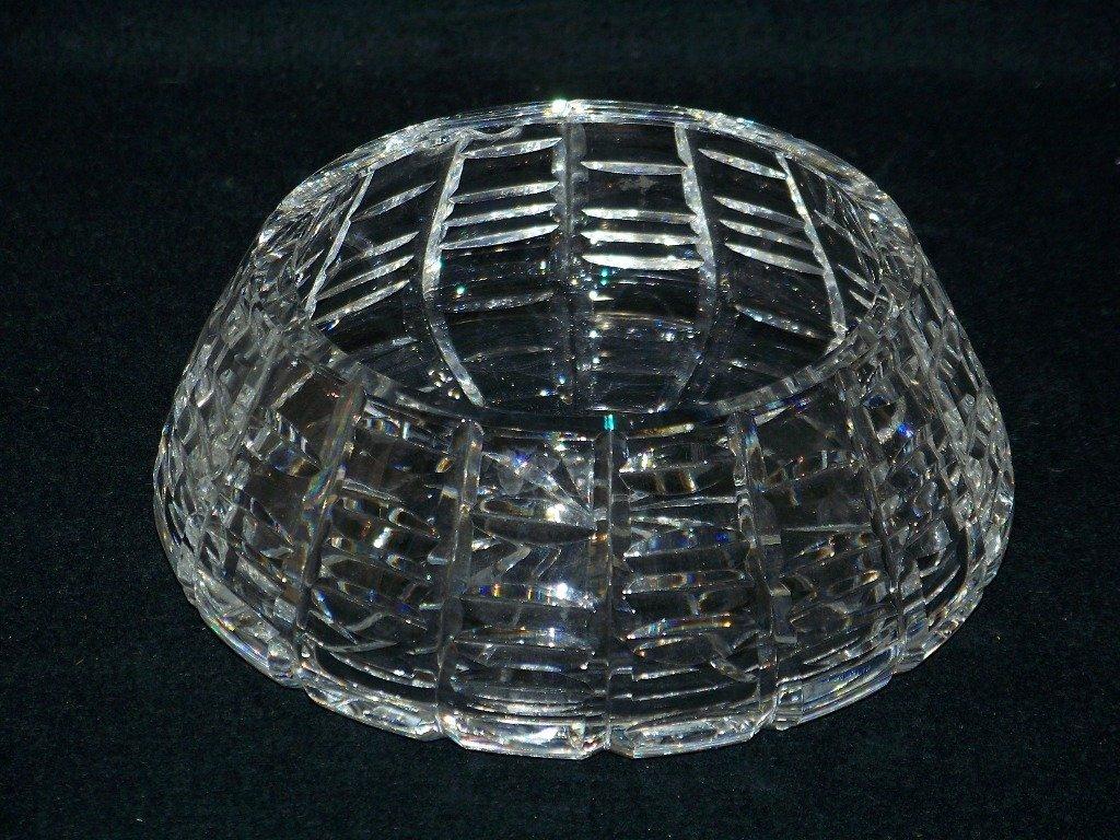 11: Fine Vintage Cut Crystal Waterford Bowl