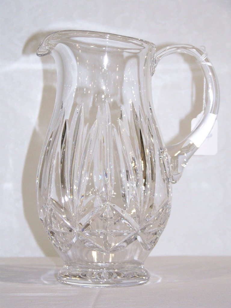 Fine Waterford Style Handled Pitcher