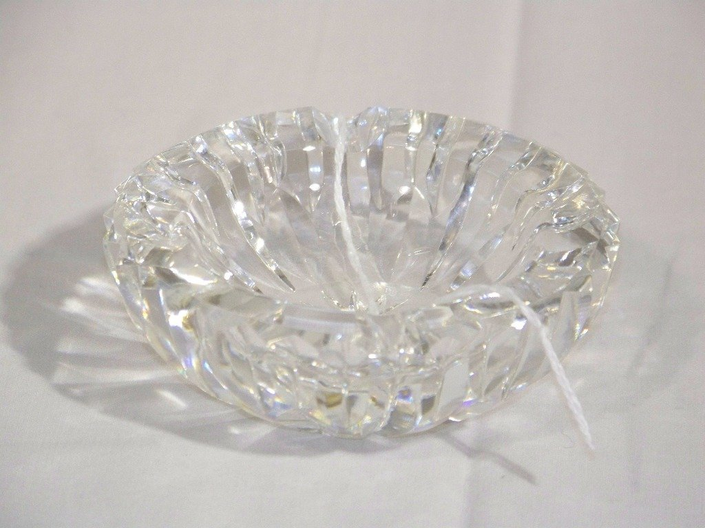 Fine Waterford Cut Crystal Personal Ashtray