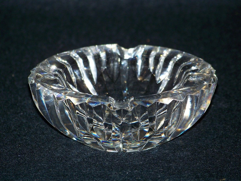 Fine Waterford Cut Crystal Personal Ashtray - 4