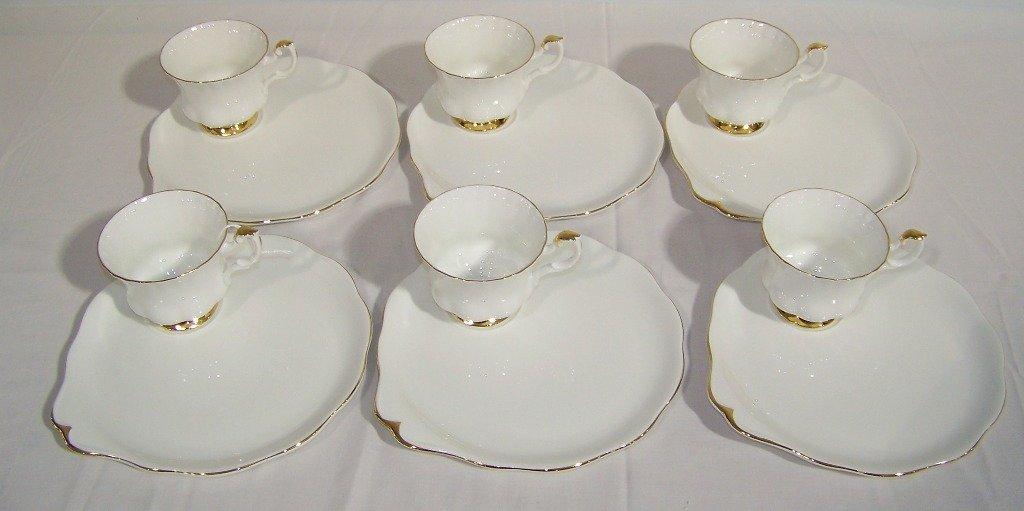 "Royal Albert Bone China ""Val Dor "" Pattern Luncheon Set"