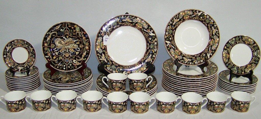 """Villeroy & Boch """"Intarsia """"Pattern Dinner Service 57 Pc"""