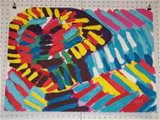Karel Appel DUTCH 19212006 Signed Colored Litho